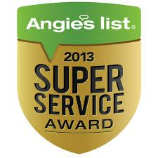 Angie's List Super Service Award, 2013