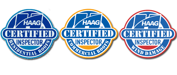 Haag Certified Roof and Wind Damage Inspector