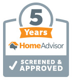 Home Advisor Five Years Screened  & Approved