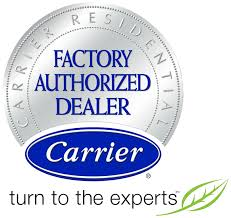Carrier, Certified Factory Authorized Dealer