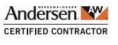 Andersen Windows & Doors CERTIFIED CONTRACTOR