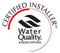 WQA Certified Installer