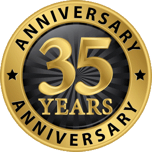 Celebrating 35 Years In Business!