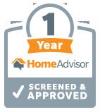 HomeAdvisor 1 Year Anniversary