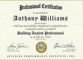 2020 BPI Certificate