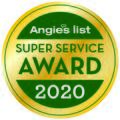 Angie's List Super Service Award for 2020