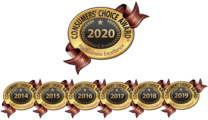 Consumers' Choice Award Winners From 2014-2020