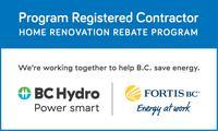 Fortis BC/ BC Hydro Rebate Program