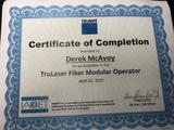 Laser Certification