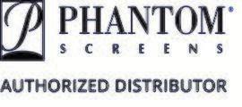 Phantom Screens Authorized Distributor