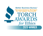 BBB's 2020 Torch Award for Ethics