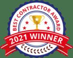 Arrow Renovation 2021 Best Contractor Award!