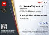 SKILLFRONT Certification