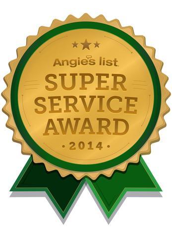 2014 Angie's List Super Service Award