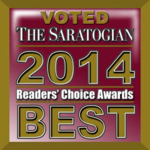2014 Saratogian Reader's Choice Award