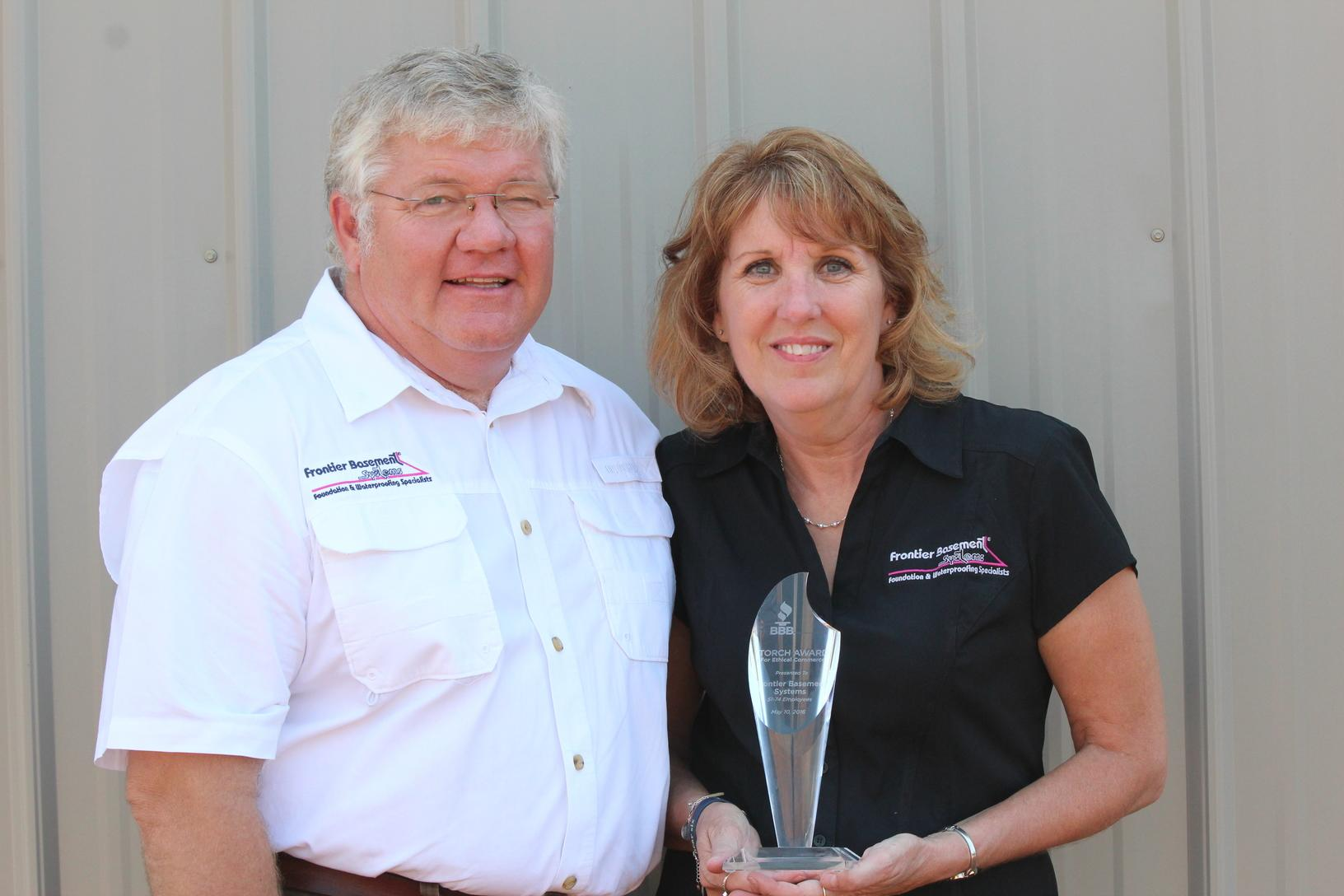 Better Business Bureau's Torch Award Winners!