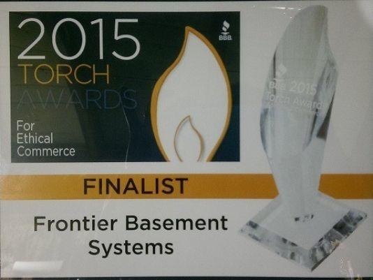 2015 Torch Award Finalist for Business Integrity