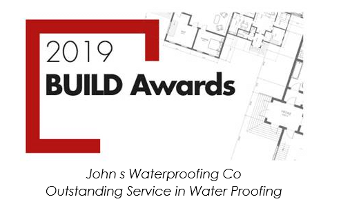 2019 Build Awards- Outstanding Service in Waterproofing