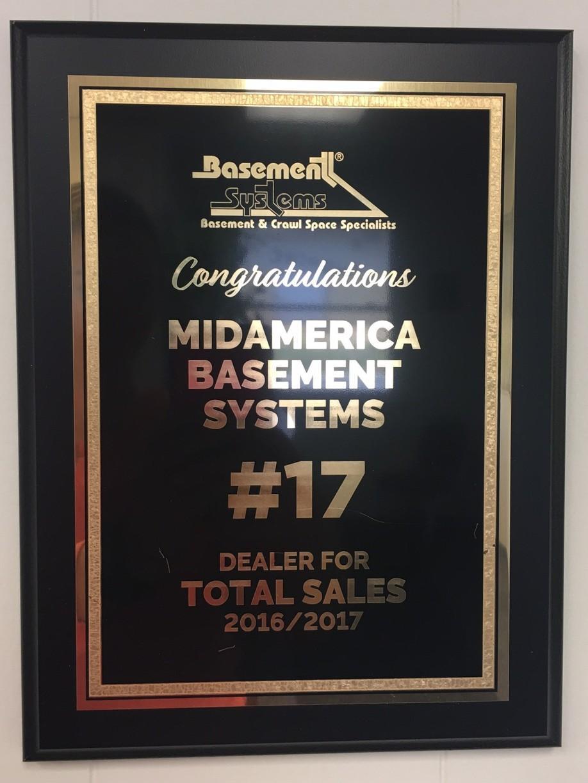 #17 Dealer in Basement Waterproofing