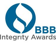 Better Business Bureau 2010 Integrity Award