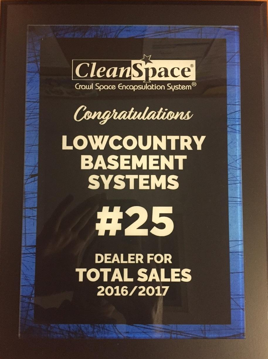 #25 CleanSpace Dealer in Total Sales