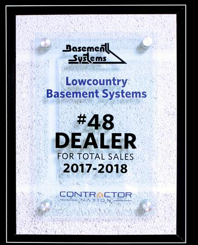 #48 Basement Systems Dealer for Total Sales
