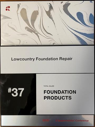 SupportWorks Dealer #37 in Foundation Products 2020
