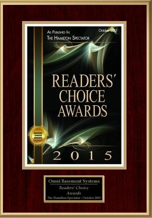 2015 Readers' Choice Award Winner