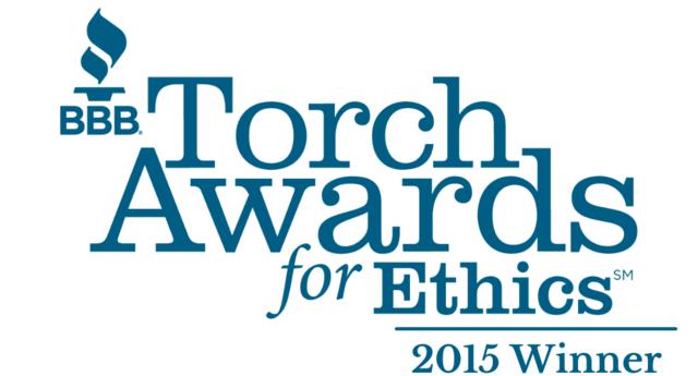 2015 Wisconsin Torch Award for Ethics Winner