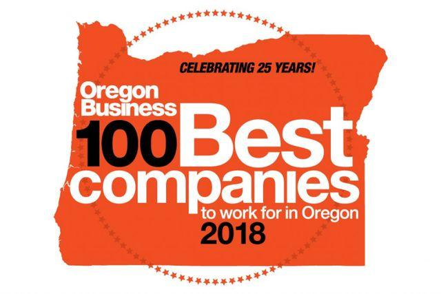 Oregon's Best 100 Companies To Work For
