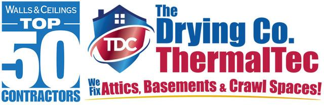 The Drying Co. Is Recognized as one of Walls & Ceilings Top 50 Contractors in the Country