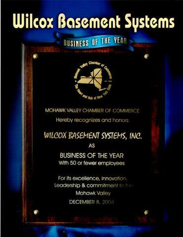 Mohawk Valley Chamber of Commerce- Business of the Year