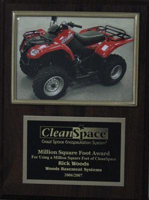 Million Square Foot Award (2006/2007)