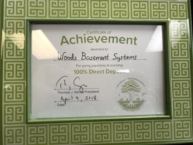 100% Paperless Direct Deposit