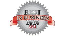 Small Business Monthly Best in Business Award