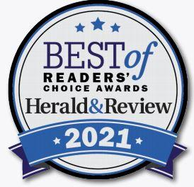 2021 Decatur Herald & Review Readers' Choice Award