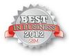 Best in Business 2012 Award