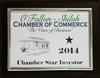 2014 Chamber Star Investor
