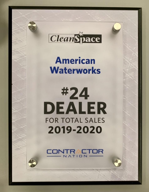 #24 Dealer for Total Sales 2019-2020