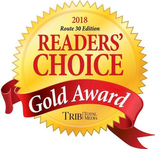 2018 Reader's Choice Gold Award