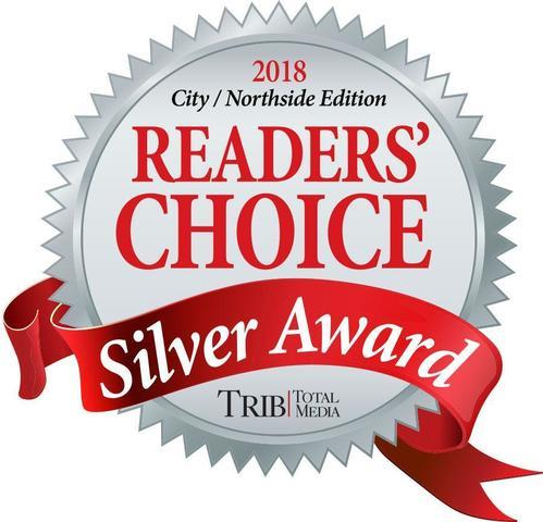 2018 Reader's Choice Silver Award