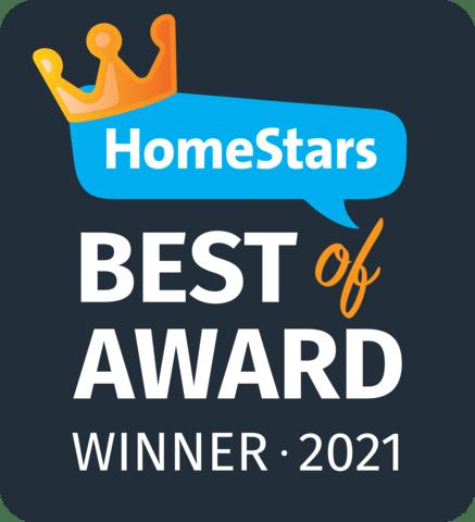 Homestars- Best of Award Winner 2021