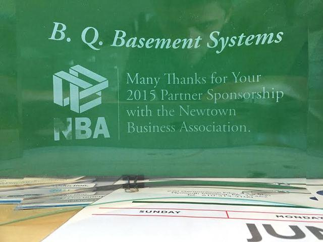 2015 Newtown Business Association Sponsorship