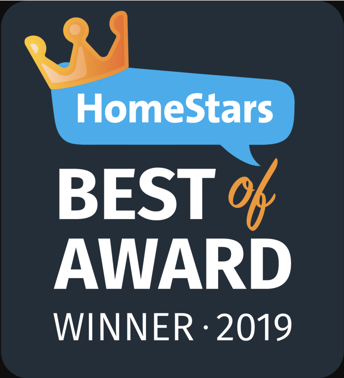 Best of 2019 Homestars Award