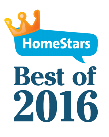HomeStars Best of 2016 Award