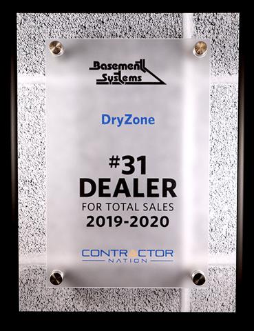 #31 Basement Systems Dealer 2019-2020