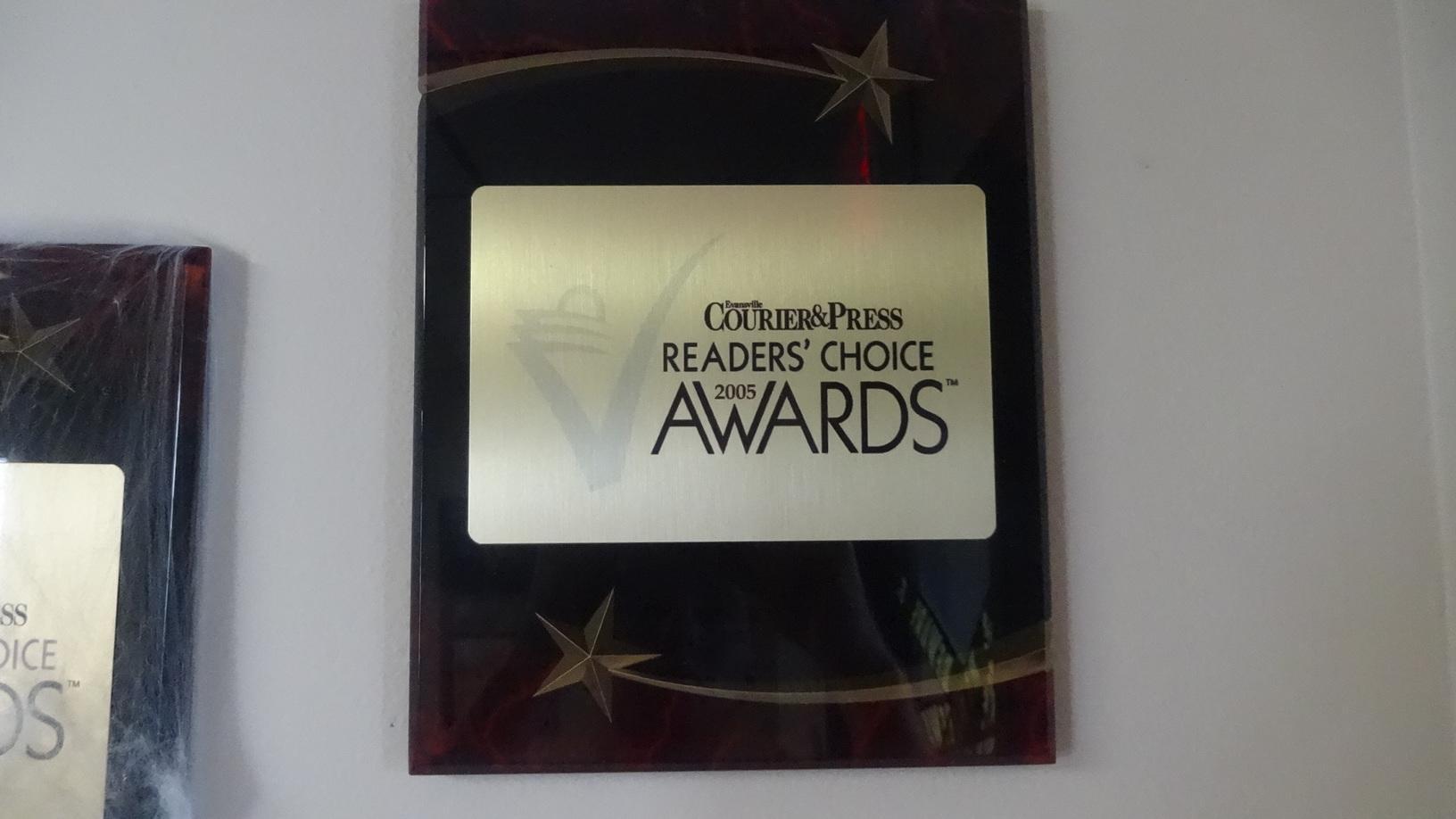 Reader's Choice Award 2005