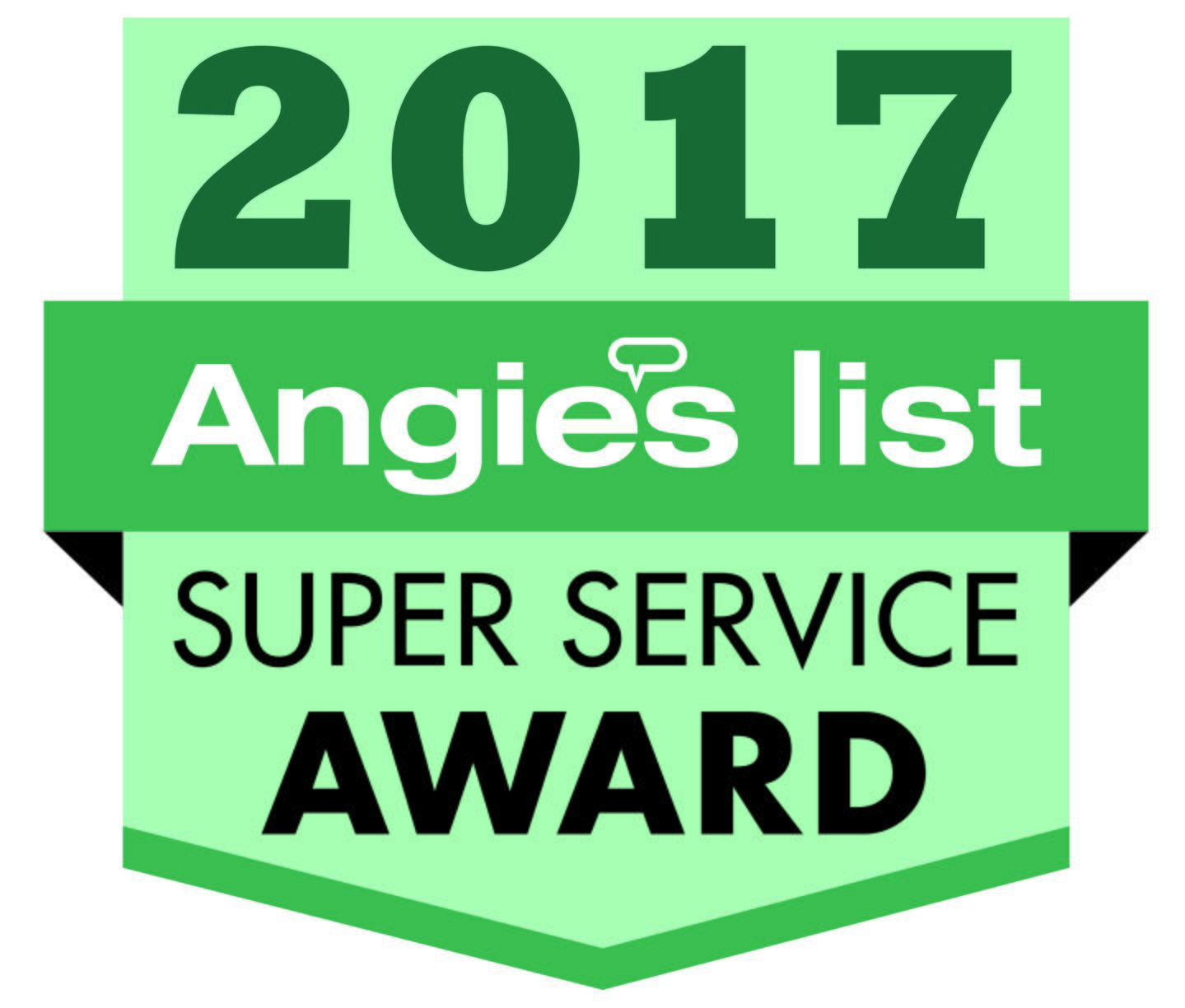 Angie's List Super Service Award for 2017