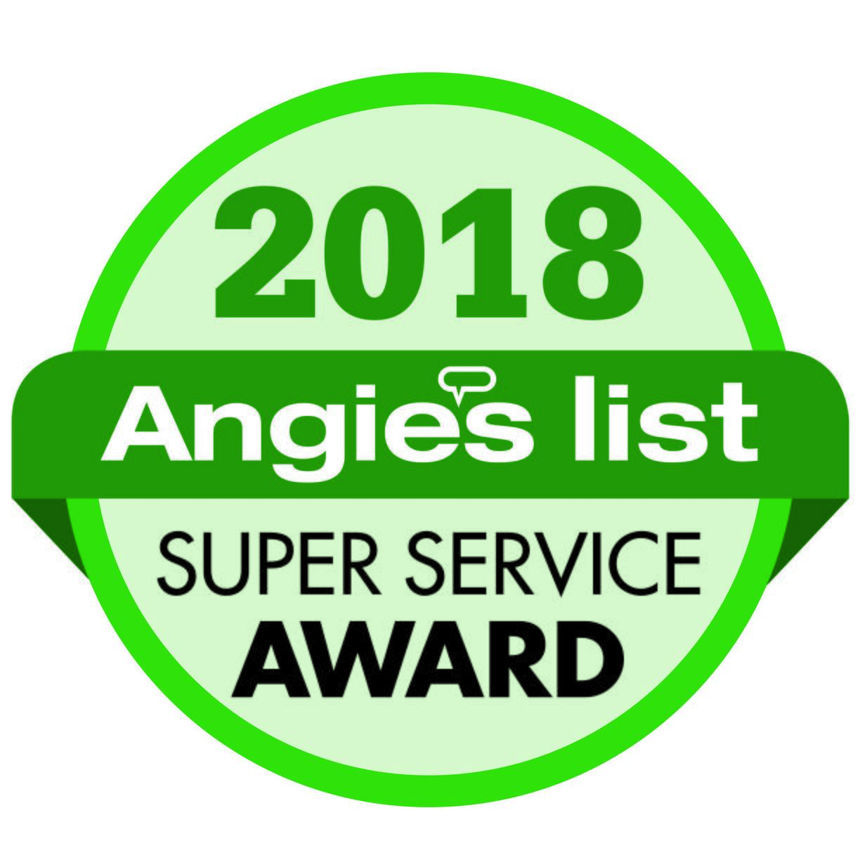 Angie's List Super Service Award 2018