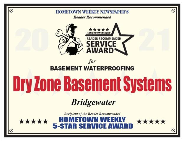 Hometown Weekly's 2021 Five Star Service Award
